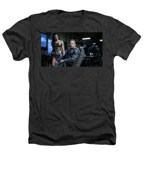 Justice League Ben Affleck Gal Gadot 4k Heathers T-Shirt