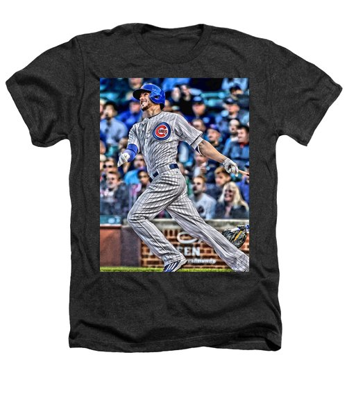 Kris Bryant Chicago Cubs Heathers T-Shirt