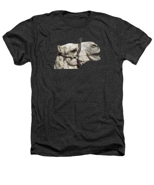 Laughing Camel Heathers T-Shirt by Roy Pedersen