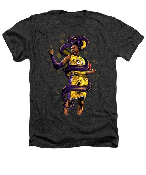 Legend Black Mamba Heathers T-Shirt by Akyanyme