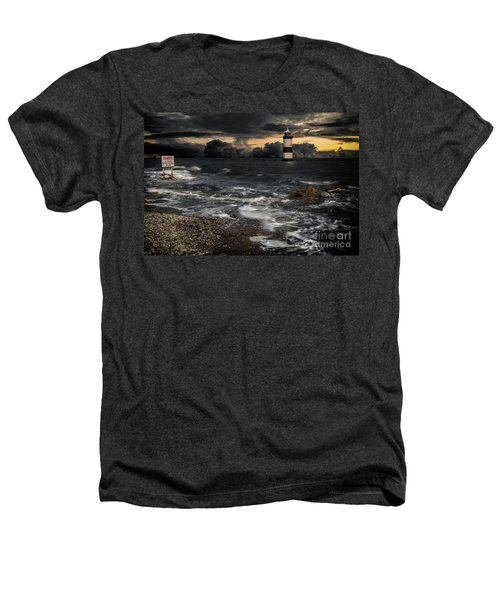 Lighthouse Storm Heathers T-Shirt