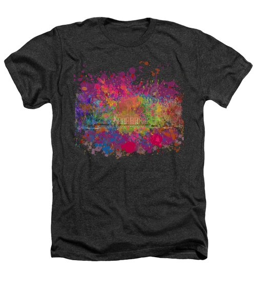 London Colour Heathers T-Shirt by Dave H