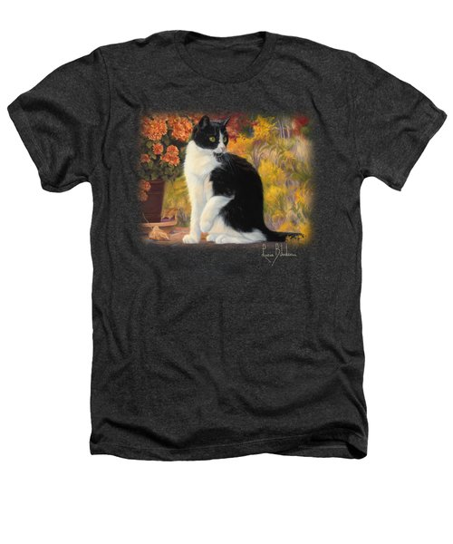 Looking Afar Heathers T-Shirt by Lucie Bilodeau