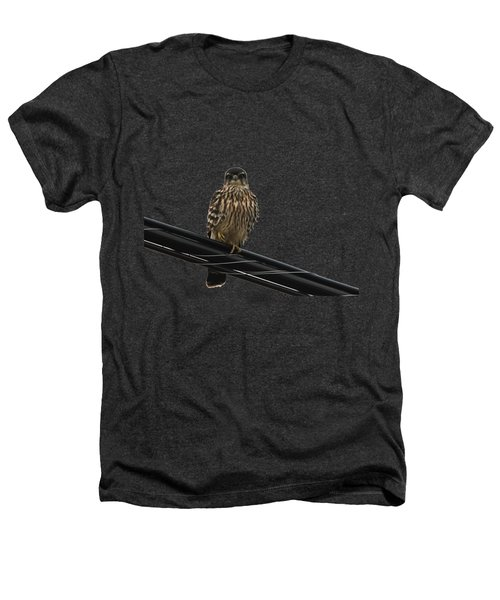 Magical Merlin Heathers T-Shirt by Debbie Oppermann