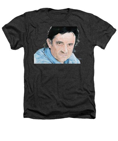 Man In Black Heathers T-Shirt