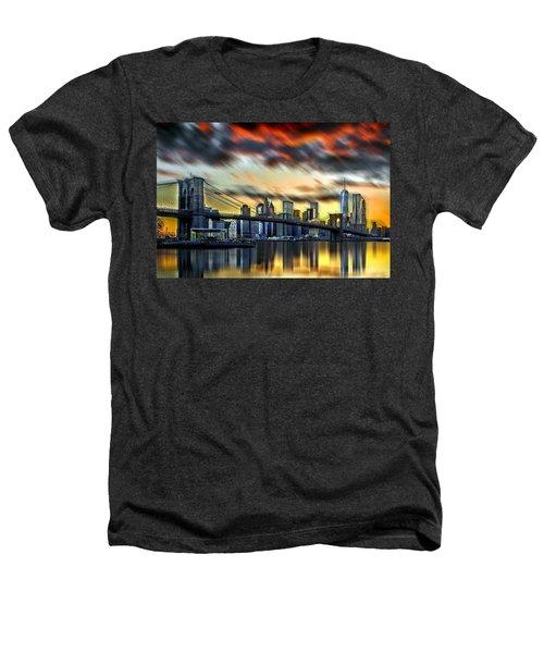 Manhattan Passion Heathers T-Shirt by Az Jackson