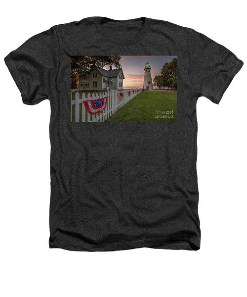 Marblehead Memorial  Heathers T-Shirt by James Dean