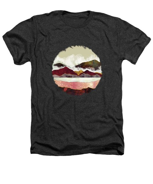 Melon Mountains Heathers T-Shirt by Katherine Smit