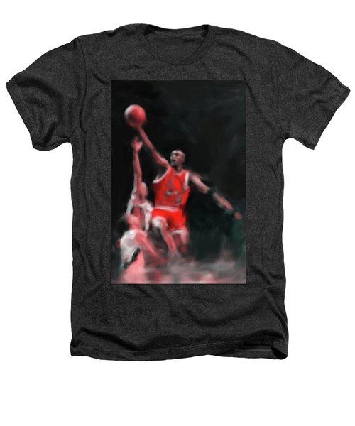 Michael Jordan 548 3 Heathers T-Shirt by Mawra Tahreem
