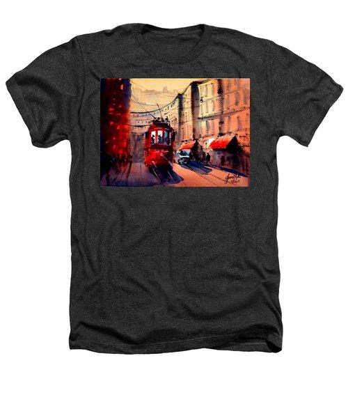 Milan Tram 2 Heathers T-Shirt