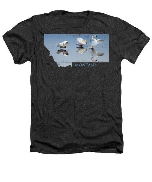 Montana- Swan Ballet Heathers T-Shirt