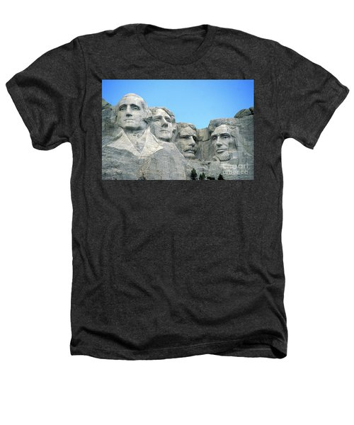 Mount Rushmore Heathers T-Shirt by American School
