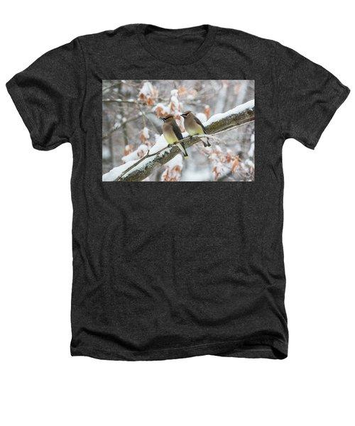 Mr. And Mrs. Cedar Wax Wing Heathers T-Shirt