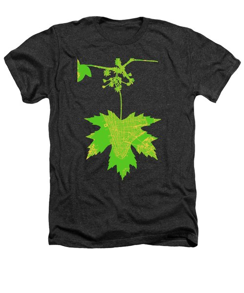 New Yor City Vintage Map Heathers T-Shirt