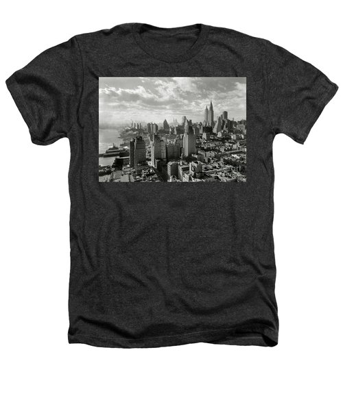New Your City Skyline Heathers T-Shirt