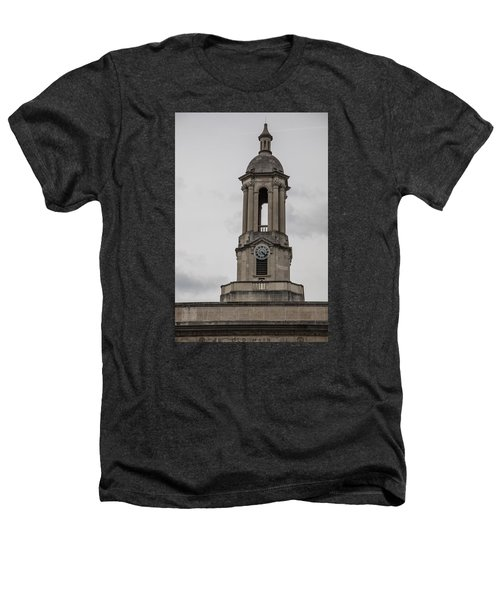 Old Main From Front Clock Heathers T-Shirt by John McGraw