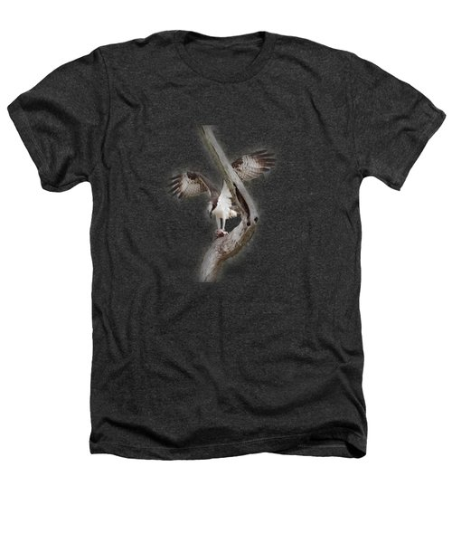 Osprey Tee-shirt Heathers T-Shirt by Donna Brown