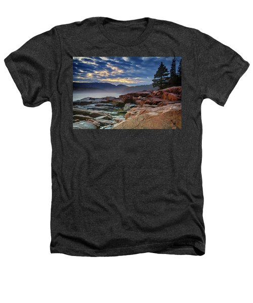 Otter Cove In The Mist Heathers T-Shirt
