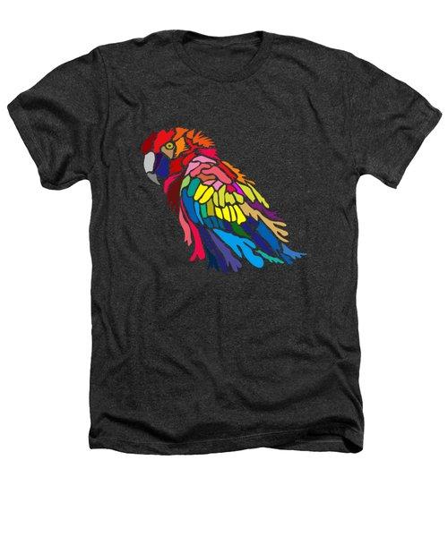 Parrot Beauty Heathers T-Shirt by Anthony Mwangi