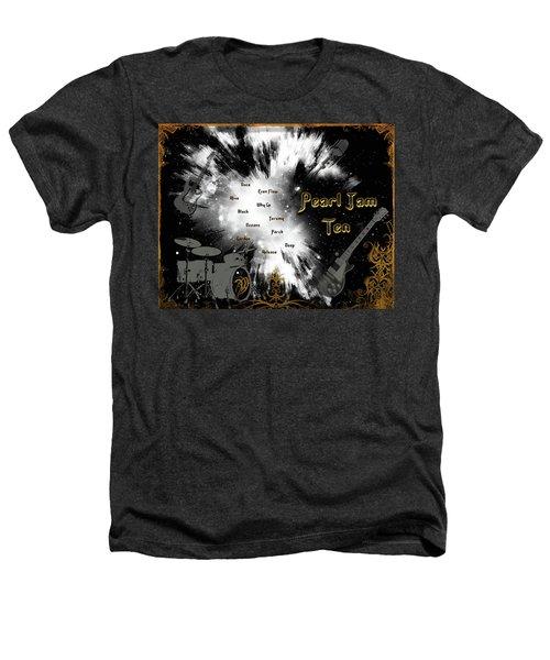 Pearl Jam Ten Heathers T-Shirt by Michael Damiani