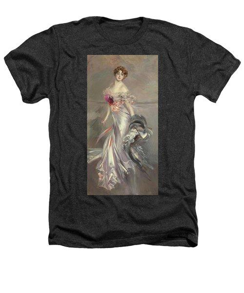 Portrait Of Marthe Regnier Heathers T-Shirt by Giovanni Boldini