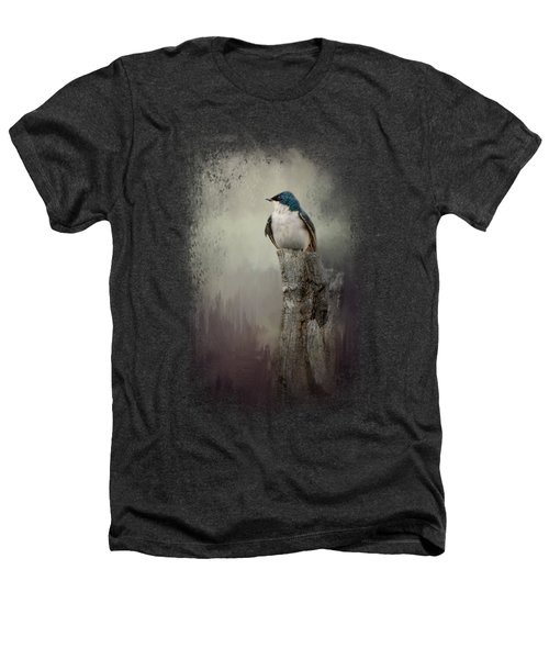 Resting Tree Swallow Heathers T-Shirt