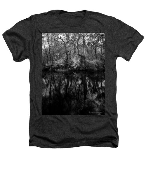 River Bank Palmetto Heathers T-Shirt by Marvin Spates