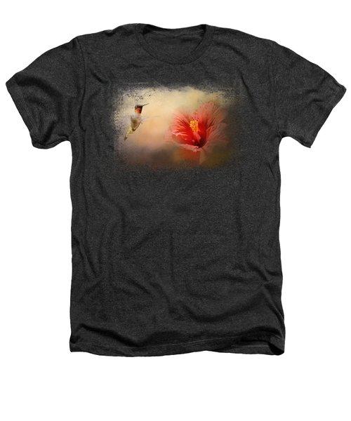 Romancing The Hibiscus Heathers T-Shirt by Jai Johnson
