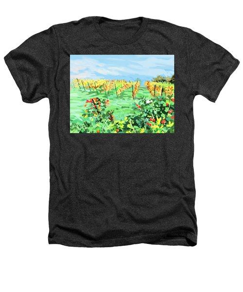 Roosthole Vineyard Heathers T-Shirt by Plum Ovelgonne