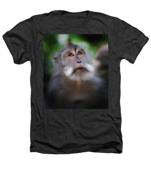 Sacred Monkey Forest Sanctuary Heathers T-Shirt