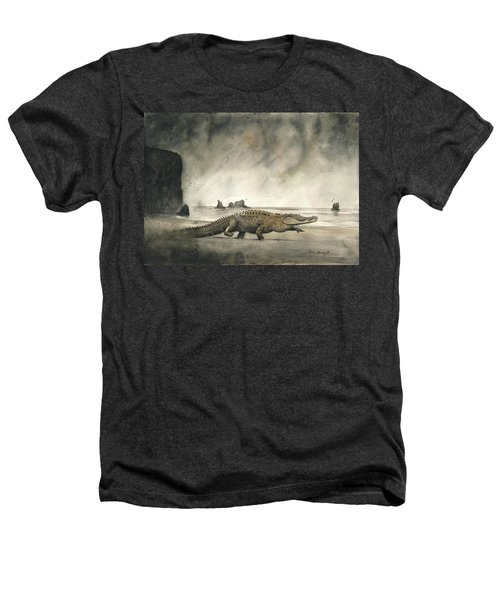 Saltwater Crocodile Heathers T-Shirt