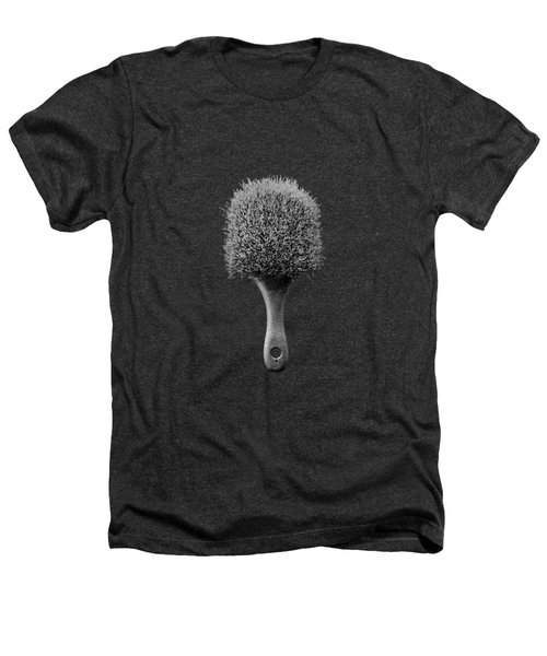 Scrub Brush Up Bw Heathers T-Shirt by YoPedro