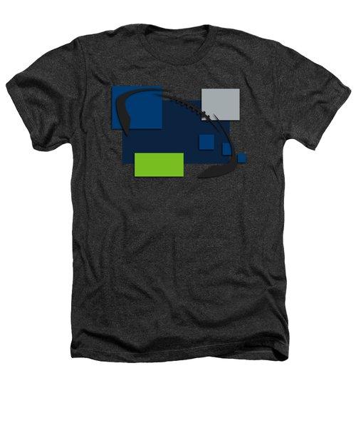 Seattle Seahawks Abstract Shirt Heathers T-Shirt by Joe Hamilton