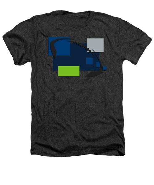 Seattle Seahawks Abstract Shirt Heathers T-Shirt