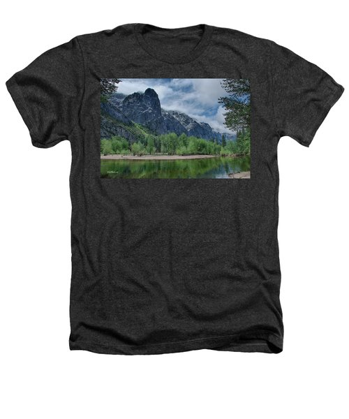 Sentinel Rock After The Storm Heathers T-Shirt by Bill Roberts