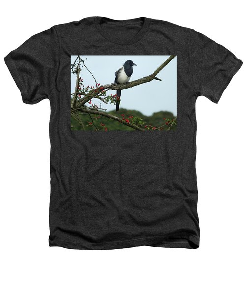 September Magpie Heathers T-Shirt by Philip Openshaw