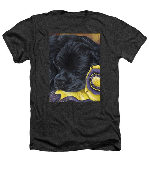 Sleepy Time Spader Heathers T-Shirt by Gilda Goodwin