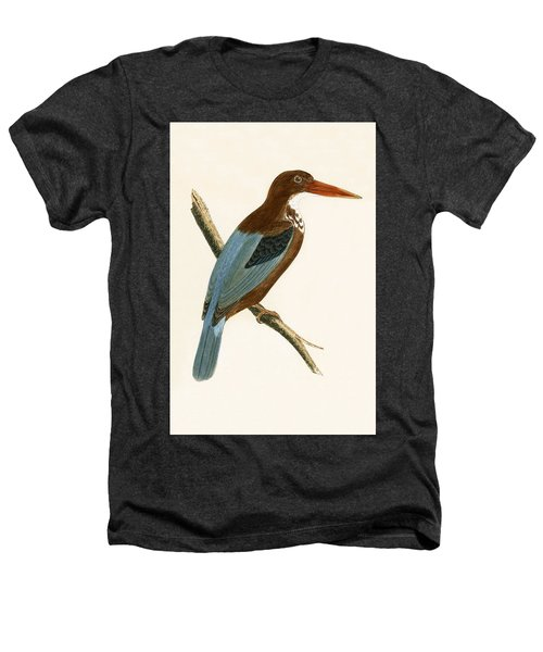 Smyrna Kingfisher Heathers T-Shirt by English School