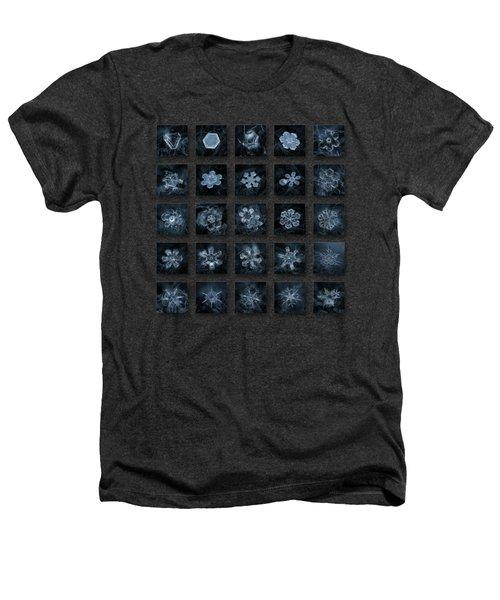 Snowflake Collage - Season 2013 Dark Crystals Heathers T-Shirt