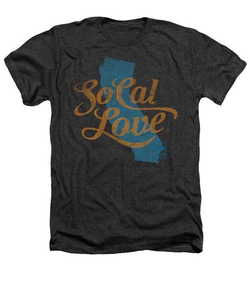 Socal Love Heathers T-Shirt by Jason Richard