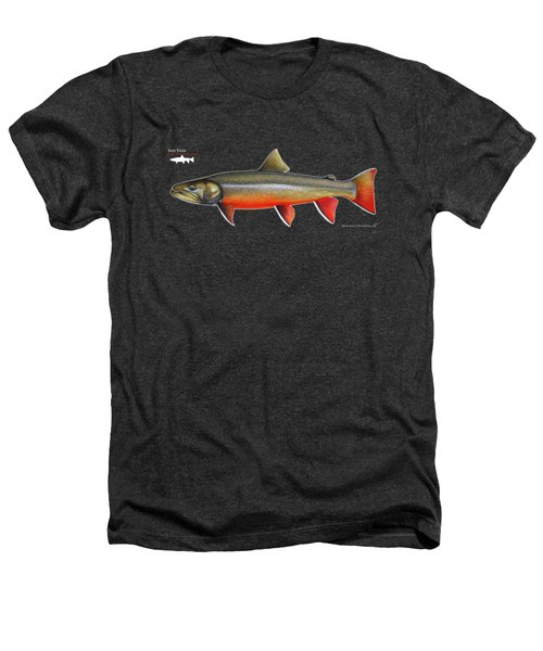 Spawning Bull Trout And Kokanee Salmon Heathers T-Shirt by Nick Laferriere
