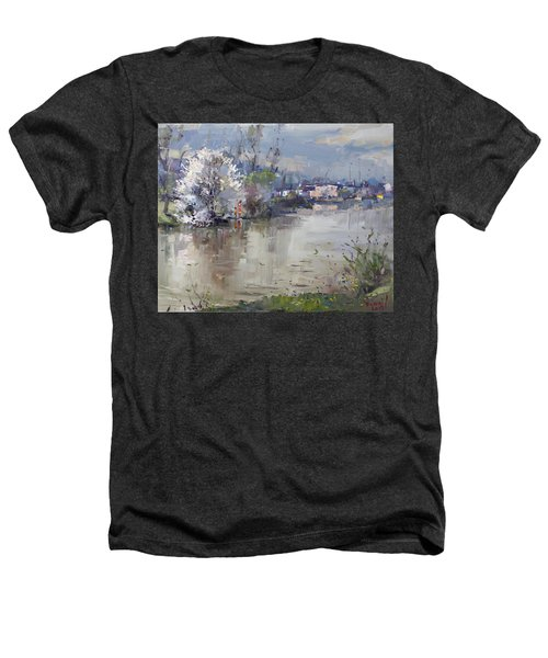 Spring In Hyde Park Heathers T-Shirt by Ylli Haruni