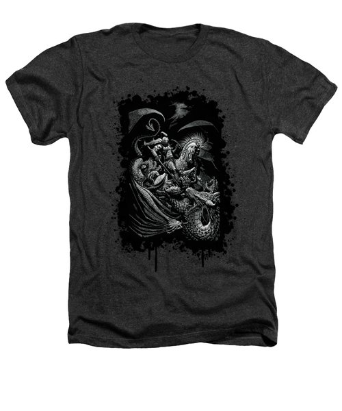 St. George And Dragon T-shirt Heathers T-Shirt