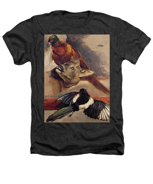 Still Life Of Game Heathers T-Shirt by Theodore Gericault