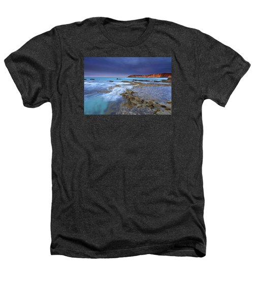Storm Light Heathers T-Shirt by Mike  Dawson