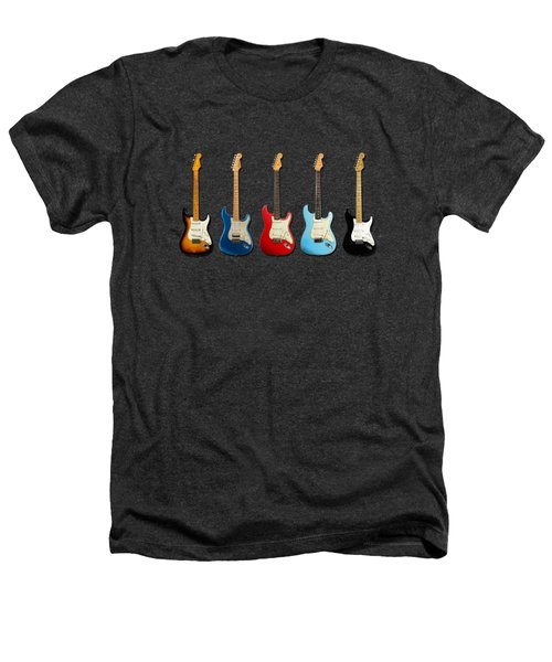 Stratocaster Heathers T-Shirt by Mark Rogan