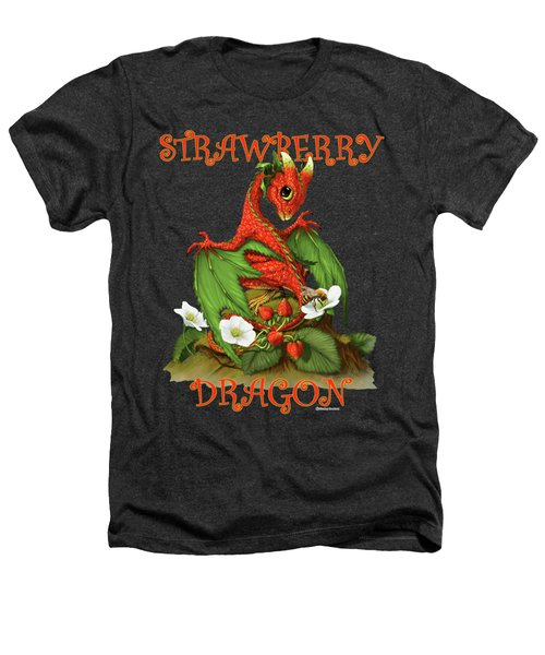 Strawberry Dragon Heathers T-Shirt