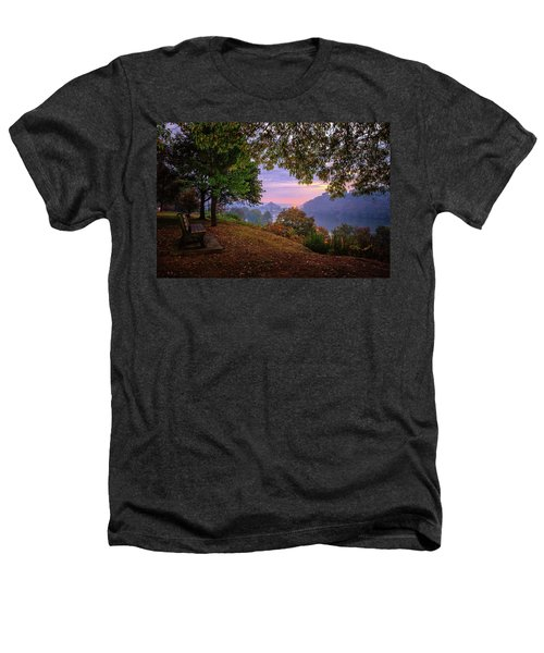 Sunrise At River Rd  Heathers T-Shirt