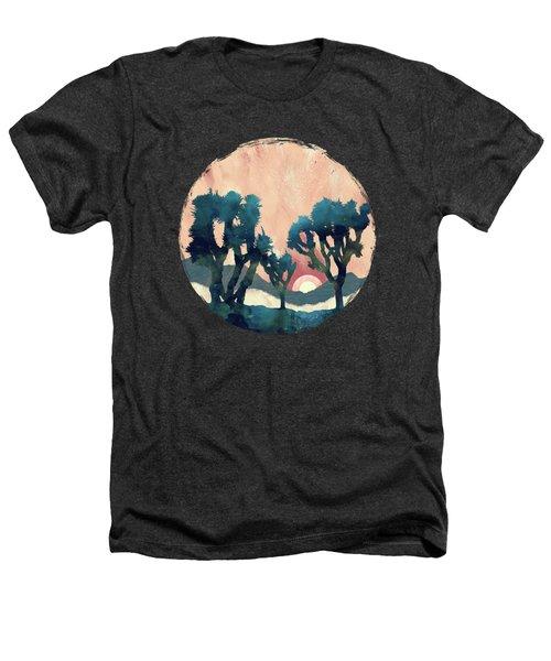 Sunset Desert Canyon Heathers T-Shirt
