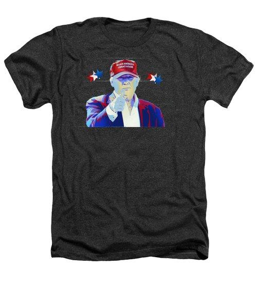 T R U M P Donald Trump Heathers T-Shirt by Mr Freedom